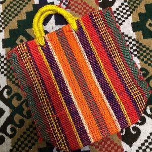 Handbags - Bundle! Colorful Handbag from 🇲🇽 + Ethnic Top
